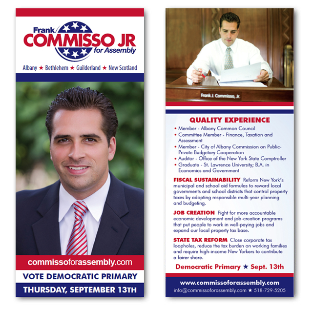 Frank Commisso Jr for Assembly