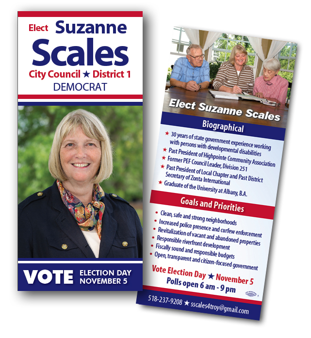 Suzanne Scales | Palm Cards | Blue State Strategies